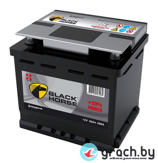 Аккумулятор Black Horse  45 А.ч. R (390A, 204*175*190)
