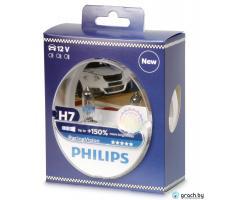 Галогеновая лампа Philips H7 RacingVision +150% (12972RVS2) (комплект)