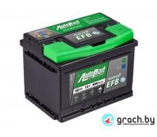 Аккумулятор автомобильный  AutoPart Galaxy EFB 60 А.ч.