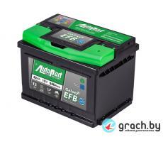 Аккумулятор автомобильный  AutoPart Galaxy EFB 62 А.ч.