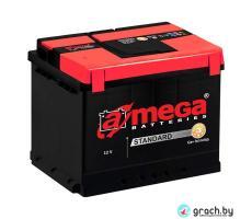 Аккумулятор A-Mega Standart 61 А.ч. низкий