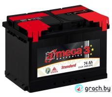 Аккумулятор A-Mega Standart 74 А.ч.