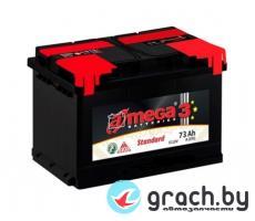 Аккумулятор A-Mega Standart 73 А.ч. низкий