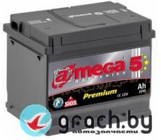 Аккумулятор A-Mega Premium 63 А.ч. низкий