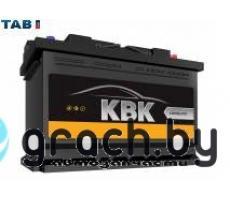 Аккумулятор KBK (TAB) 75 А.ч.  R