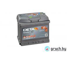 Аккумулятор автомобильный DETA SENATOR3 47 А.ч.