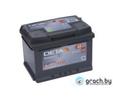 Аккумулятор автомобильный DETA SENATOR3 64 А.ч.
