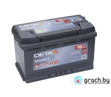 Аккумулятор автомобильный DETA SENATOR3 90 А.ч.