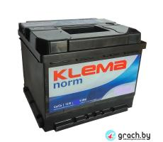 Аккумулятор KLEMA Norm 55 Ah 450A