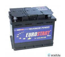 Аккумулятор Eurostart (Евростарт) 60 А.ч. 480А