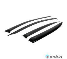 Комплект дефлекторов серия CORSAR Geely GC6 Sd 2014-н.в./седан/накладные/скотч/к-т 4шт./