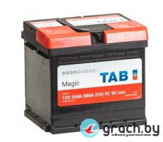 Аккумулятор TAB (ТАБ) Magic 55 Ah 560A