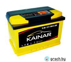Аккумулятор Kainar 75 А.ч. 690 А низкий