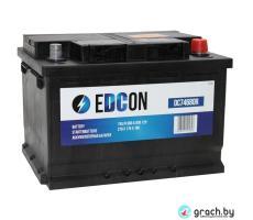Аккумулятор Edcon (Эдкон) 72 А.ч. 680 A низкий