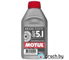 Жидкость тормозная MOTUL BRAKE FLUID DOT 5.1, 0.5л