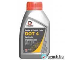 Тормозная жидкость COMMA DOT 4 BRAKE FLUID 0,5L