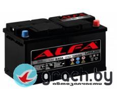 Аккумулятор автомобильный ALFA (Альфа) Hybrid 100 А.ч.