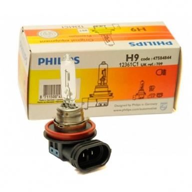 Автомобильная лампа H9 65W 1 шт. Philips 12361C1 - фото 4