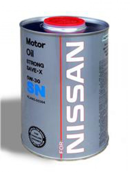 Моторное масло Nissan 5w30 1л (FanFaro)(железная банка)